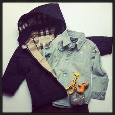 We LOVE denim shirts! City Look.....so chic! www.hipmums.it