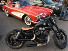 For sale Custom XV 535 Bobber with original engine and only 2310 miles!! MOT till 17/08/2017. Frame,