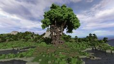 Check Out this Epic Minecraft Treehouse! - http://gearcraft.us/check-out-this-epic-minecraft-treehouse/