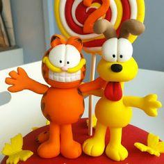 TeaRoom by Bel Jee: Garfield and Odie