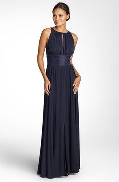9. #Grecian-inspired Mother of the #Bride Dress... - 15 Sexy #Mother of the Bride Dresses ... → #Wedding #Beaded