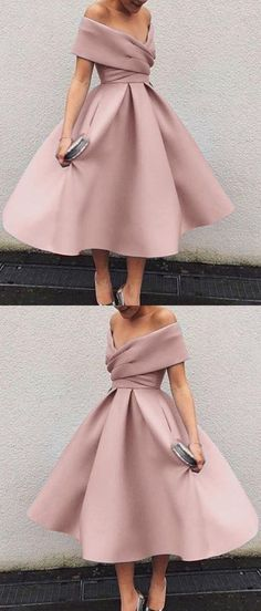 Popular Off the Shoulder Tea Length Short Homecoming Dresses Homecoming Dresses, Short Homecoming Dress Short Homecoming Dresses Stylish Dresses, Fashion Dresses, Casual Dresses, Pretty Dresses, Beautiful Dresses, Robes D'occasion, Short Dresses, Formal Dresses, Maxi Dresses