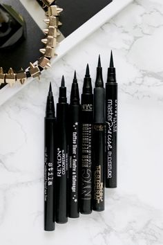 Battle of the liquid pen eyeliners - Thirteen Thoughts-beauty and lifestyle blog kiji