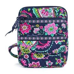 NWT! Vera Bradley PETAL PAISLEY Mini Hipster Crossbody Handbag Purse Adj. Strap  #VeraBradley #MessengerCrossBody