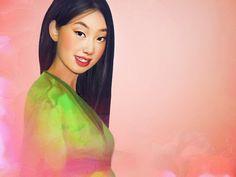 Realistic Disney Characters - Mulan