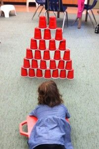 Stacking Cups + scooter