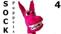 How to Make SOCK Puppets 4 / Çorap Kukla  - Farklı bir teknik - DIY - Q...