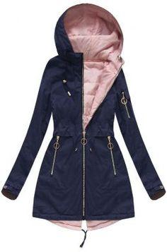 Dámska prechodná bunda parka tmavomodrá W608 Parka, Raincoat, Outfit, Jackets, Fashion, Rain Jacket, Outfits, Down Jackets, Moda