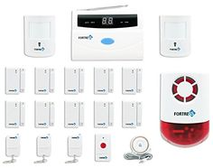 Special Offers - Fortress Security Store (TM) S02-C Wireless Home Security Alarm System Pet Immune DIY Kit with Auto Dial  Outdoor Strobe Alarm - In stock & Free Shipping. You can save more money! Check It (September 30 2016 at 10:39PM) >> http://motionsensorusa.net/fortress-security-store-tm-s02-c-wireless-home-security-alarm-system-pet-immune-diy-kit-with-auto-dial-outdoor-strobe-alarm/
