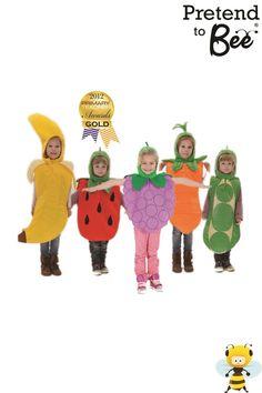 Fruit VEG Tabards Children'S Kids BOY Girls Quality Fancy Dress Costume 3 7yrs | eBay