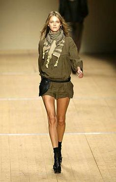 4. Isabel Marant, from her Fall/Winter 2008 Runway