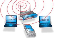 Wi-Fi network increases mobility, productivity and improves efficiency.