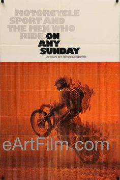 #HappyBirthday #SteveMcQueen https://eartfilm.com/search?q=steve+mcqueen #actors #acting #ThomasCrownAffair #TheToweringInferno #LoveWithTheProperStranger #TheHunter #OnAnySunday #motorcycles #KingOfCool #Indiana #theatre #movie #movies #poster #posters #film #cinema #movieposter #movieposters    On Any Sunday-Bruce Brown motorcycle racing classic-Steve McQueen-1971