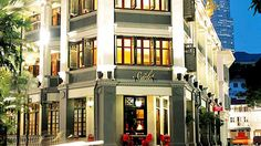 The Scarlet, Singapore's first luxury boutique hotel, made her debut in December 2004. Vivacious and uninhibited, the interiors of this 80-room hotel pulsate with an eclectic tension, offering all who enter an adventure for the senses.