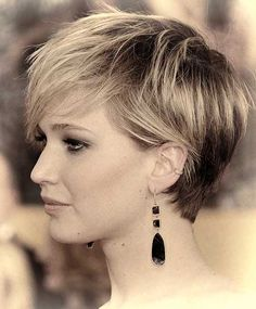Jennifer Lawrence's Lovely Pixie Cut