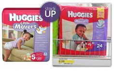 Hot! Huggies Diapers, Only $2.99 at Target!