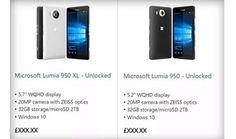 Lumia 950 e Lumia 950 XL aparecem 'sem querer' na loja da Microsoft | Notícias | TechTudo