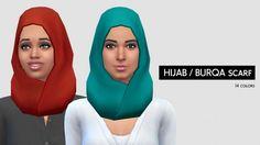 Hijab / Burqa at LumiaLover Sims via Sims 4 Updates