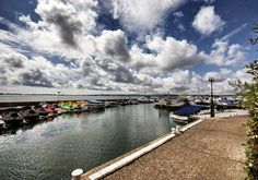View of Poole Harbour, Dorset from Salterns Hotel. Dorset Coast, The Outsiders, Outdoor Decor