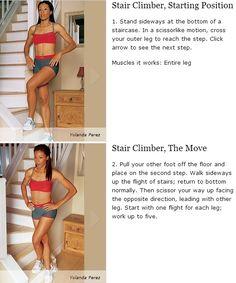 Stair Climber - Entire leg