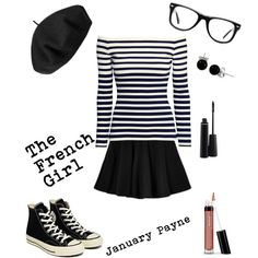6532f7ca407 The French Girl by januarypayne on Polyvore featuring H M