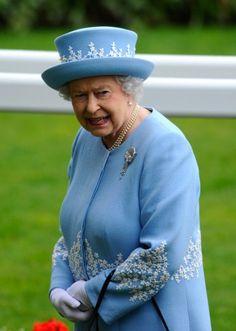Queen Elizabeth, June 22, 2013   The Royal Hats Blog