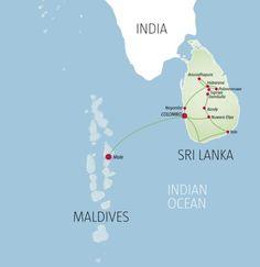 Sri Lanka & Maldives- si près du paradis
