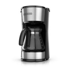 KitchenAid White 1 Touch 12 Cup Coffee Brown Maker