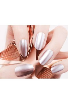 foil nail polish - cool! Nails Inc. London Nail Lacquers #chinaglaze #OPI #nailsinc #dior #orly #Essie #Nubar @opulentnails over 12,000 pins