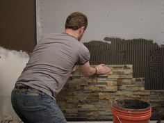 these are cool stone tiles for backsplash, window wells, tub surround, fireplace, etc.