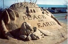 Sand Sculptures | Sand Sculpture Picture - Ocean City, Maryland
