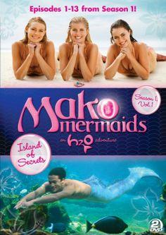 Mako Mermaids - An H2O Adventure Season 1, Volume 1: Island of Secrets DVD set giveaway on Sugar Pop Ribbons