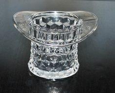 American Fostoria top hat vase....Louise's..a wedding gift...1942
