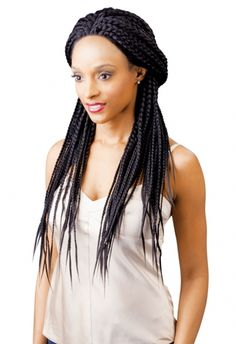 100 Kanekalon Magic Lace Front Wigs Senegal BOX BRAID for Women XPression 1 32 Inches * Check this awesome product by going to the link at the image. (This is an affiliate link) Box Braid Wig, Braids Wig, Box Braids, Synthetic Lace Front Wigs, Synthetic Wigs, Latest Hairstyles, Braided Hairstyles, Front Hair Styles, Hair Front