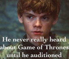 """THOMAS BRODIE SANGSTER FACT❤️>> He really didn't? Meh..that's okay..I mean if it's will be any other person I will say """"oh God! You just here for money not for being part of a amazing story""""...but...it's Sangster so we can forgive him..Anyway I think that a lot of actors are falling in love in shows from that wayw so.."""