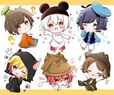 Kawaii Chibi, Cute Chibi, Anime Chibi, Anime Art, Fox Eyes, Macrame Design, Cartoon Games, Cute Anime Boy, Fandom