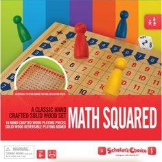 Scholar's Choice Math Squared Game