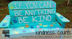 TPcraft.com: Why Your School Needs A Buddy Bench {as seen on Jacksonville Moms Blog}