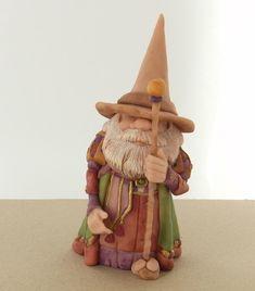 Super Sculpey Enchanted Gnome