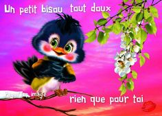 Un petit bisou tout doux rien que pour toi - Francis Dethon - Pint Bisous Gif, Fairy Paintings, Happy Friendship Day, Over The Rainbow, Good Vibes, Cuddling, Cute Cats, Good Morning, Cute Pictures