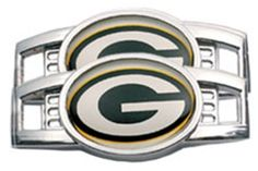 Amazon.com: Green Bay Packers Tennis Shoe Charm Set: Sports & Outdoors