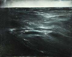 Thierry De Cordier MER DU NORD, Étude n°1,2011 Oil paint and enamel on canvas