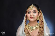 All brides dream about finding the most appropriate wedding day, but for this they need the perfect wedding outfit, with the bridesmaid's dresses actually complimenting the brides dress. These are a variety of ideas on wedding dresses. Bridal Looks, Bridal Style, Wedding Art, Wedding Images, Wedding Ceremony, Traditional Wedding Dresses, Indian Beauty Saree, Beautiful Indian Actress, Hd 1080p