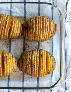 The hasselback potato is clearly the most impressive spud to ever call itself a side dish. It's also like having all of your potato dreams come true at once: these potatoes have the crispy edges of your favorite french fries, but with middles as creamy as mashed potatoes — plus the added bonus of being, essentially, wholesome baked potatoes in clever disguise. Want one more reason to make them tonight? How about the fact that despite their frilly fancy-pants appearance, they take no more…