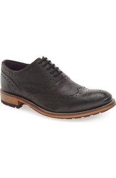 TED BAKER 'Guri 8' Wingtip (Men). #tedbaker #shoes #