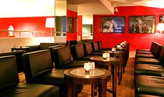 """Bar Rouge @ Hotel Skt. Petri: My favorite CHILL LOUNGE BAR in Copenhagen. And a lovely hotel to stay in.The bar is supposedly a """"see and be seen"""" place..."""