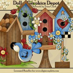 Some Birdies Home - $1.00 : Dollar Graphics Depot, Your Dollar Graphic Store