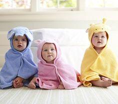 $29 at Pottery Barn Baby towels