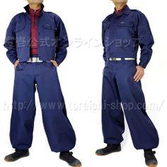 Toraichi 2530-146 Short open shirt 2530-448 Slim cho-cho long pants