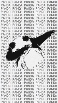 Hate dabbing but... love pandas so...